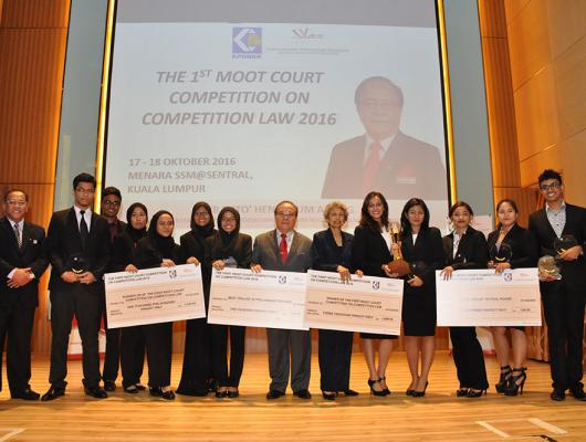 "MyCC HOSTS PROGRAMME ""THE 1st MOOT COURT COMPETITION ON COMPETITION LAW 2016"" WITH INSTITUTIONS OF HIGHER LEARNING IN MALAYSIA"