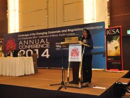 Annual Conference 2014 Challenges of The Changing Corporate and Regulatory Landscape