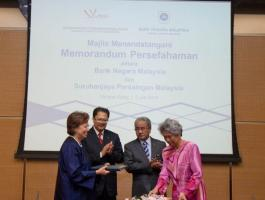 MOU Between Bank Negara and MyCC